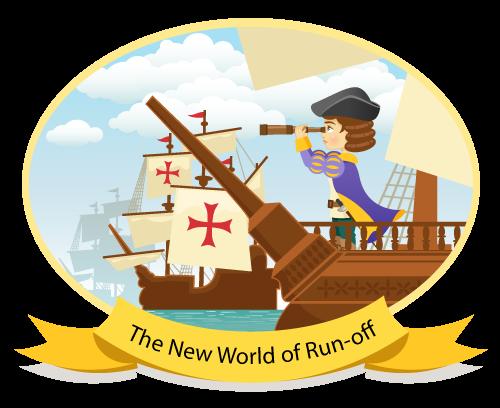 Christopher Columbus - New world of run-off