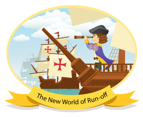 Christopher Columbus - New world of run-off